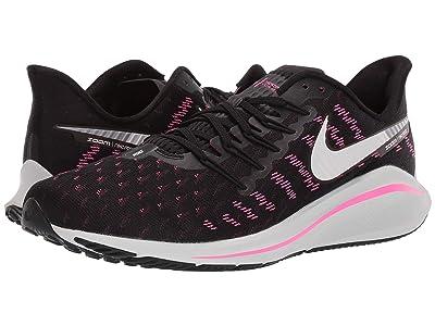 Nike Air Zoom Vomero 14 (Black/Platinum Tint/Pink Blast) Men