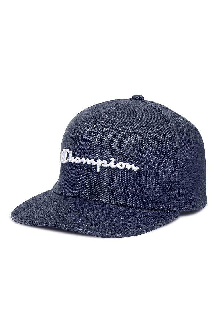 パスタ致命的な電気[チャンピオン] メンズ 帽子 Champion Script Logo Cap [並行輸入品]