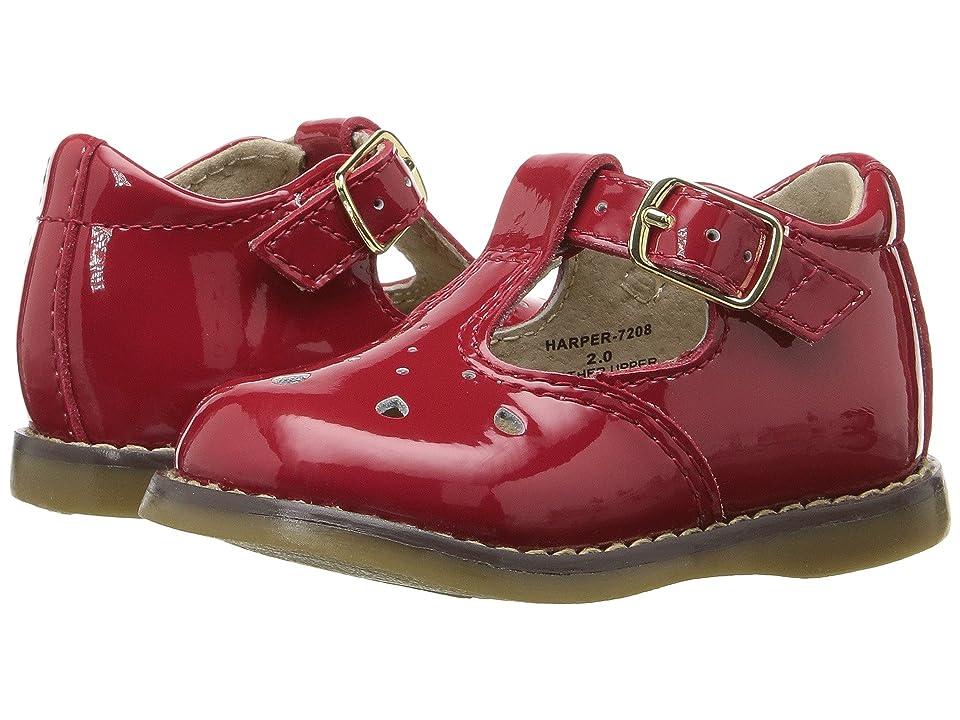 FootMates Harper (Infant/Toddler) (Red Patent) Girls Shoes