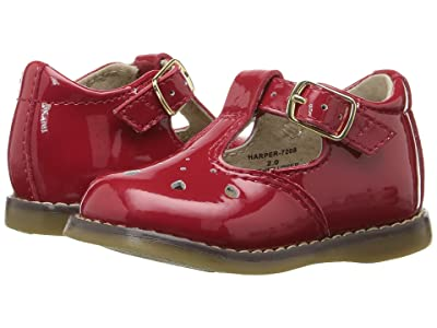 FootMates Harper (Infant/Toddler) (Red Patent) Girls Shoes