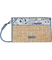 Roma Mini Straw Crossbody
