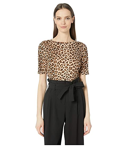 Rebecca Taylor Spring Leopard Jersey Top
