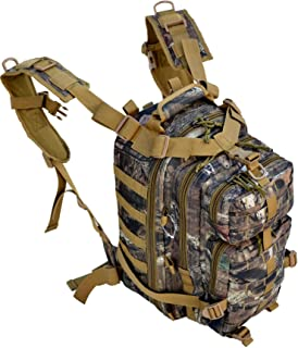 Explorer Realtree Like Tactical Hunting Camo Heavy Duty Duffel Bag Luggage Travel Gear for Huniting Outdoor Police Security Every Day Use (B3Backpack)