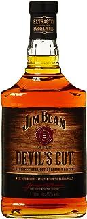 """Jim Beam Devil""""s Cut Kentucky Straight Bourbon Whiskey, robuster Geschmack mit intensiven Eichen- und Vanillenoten, 45% Vol, 1 x 1l"""