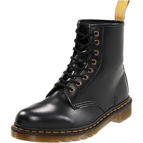 2a102d37c6b1 Dr. Martens Vegan 1460 Smooth Black Combat Boot UK 4 (US Men s 5