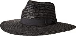 WSH1107 Pinched Crown Wheat Straw Sun Brim