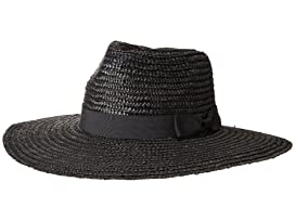 57fe0bed580 San Diego Hat Company WSH1107 Pinched Crown Wheat Straw Sun Brim