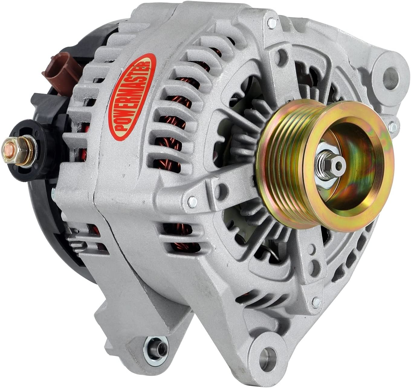 Powermaster 43988 Selling and selling Alternator Denso Natural 245A 25% OFF Pulley 7 grv Do