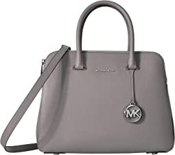 Houston Medium Double Zip Satchel