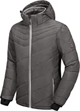 Little Donkey Andy Men's Warm Windproof Ski Insulated Jacket Water Repellent Winter Snowboarding Snow Coat