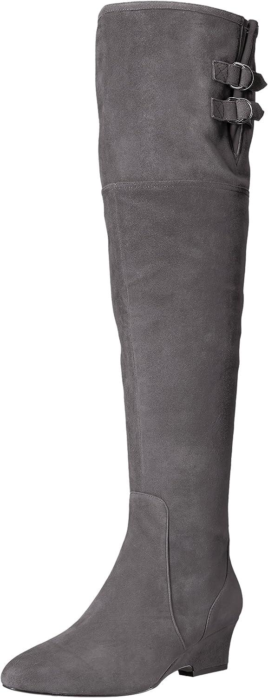 Nine West West West Woherrar Jaen mocka Knee High Boot  klassisk stil