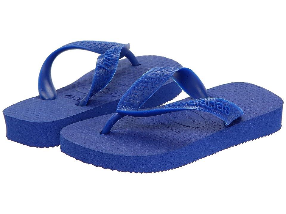 Havaianas Kids Top Flip Flops (Toddler/Little Kid/Big Kid) (Marine Blue) Kid