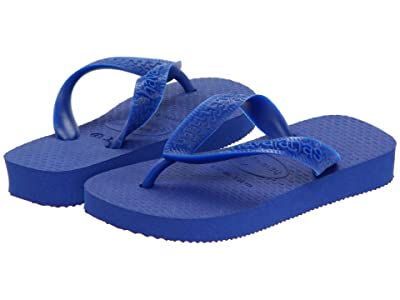 Havaianas Kids Top Flip Flops (Toddler/Little Kid/Big Kid) (Marine Blue) Kid