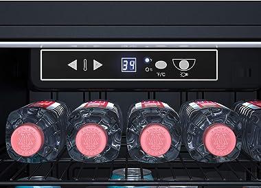 EdgeStar BWC121SSLT 18 Inch Wide 80 Can Capacity Ultra Low Temp Beverage Center