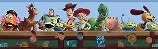 York Wallcoverings Disney Kids Toy Story Border, Blue