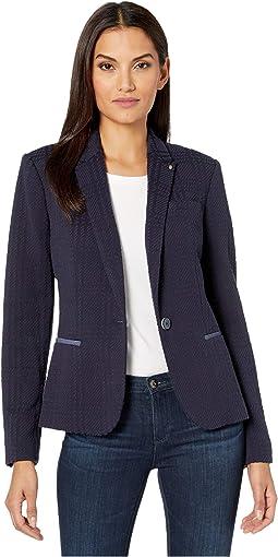 One-Button Novilty Jacket