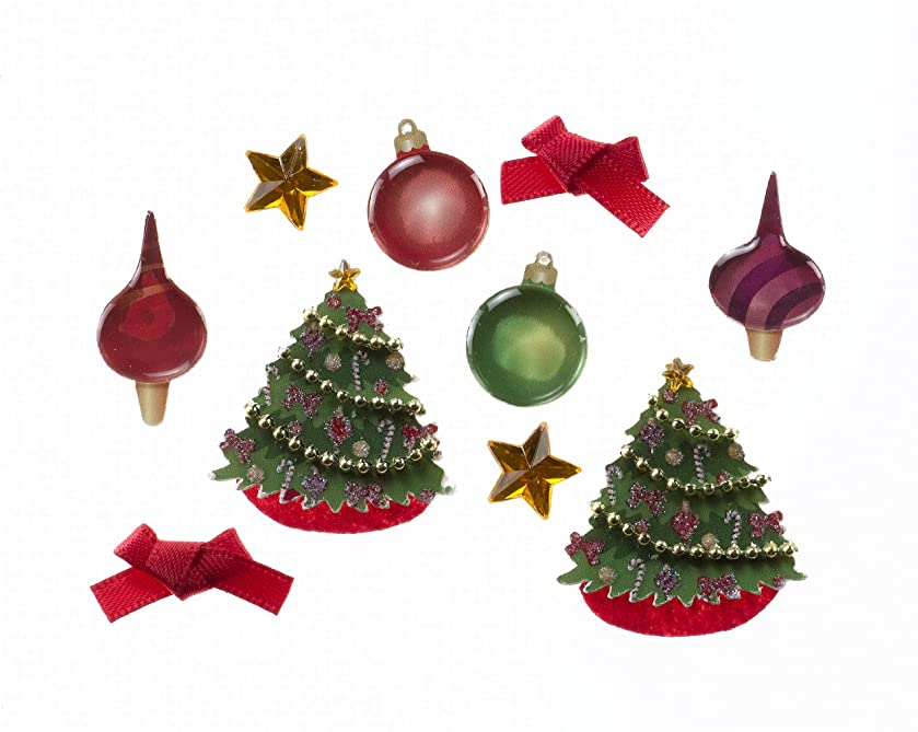 Jolee's Boutique Scrapbooking Embellishments, Christmas Ornaments and Trees