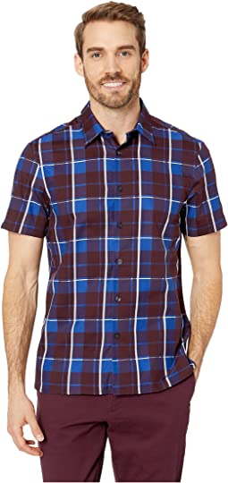 Regular Fit Plaid Print Shirt