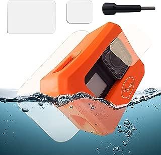 Ho Stevie! Floaty Case + Screen Protectors for GoPro Hero 7, Hero 6, or Hero 5 [Choose Color]