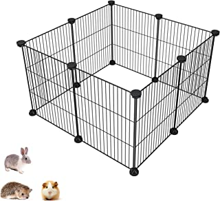 SIMPDIY Pet Playpen, Small Animal Kennel and Fence for Indoor/Outdoor Use, Comfortable Pet Premium Villa Crate Tent for Bu...