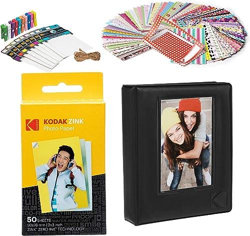 lowest Kodak wholesale 2x3ʺ Premium sale Zink Paper Starter Kit with Photo Album outlet sale
