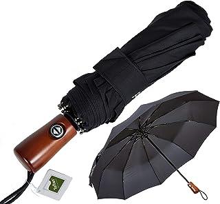 NEW Premium Umbrella Windproof - Large Umbrella Travel - Compact Umbrella Automatic - Travel Umbrella Folding - Portable U...