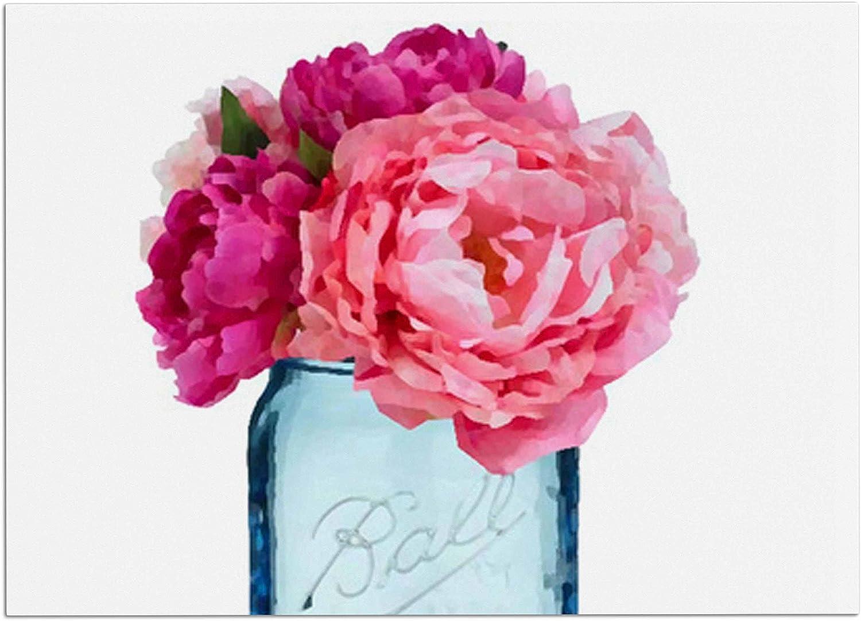 KESS InHouse OC1050ADM02 Oriana Cordero Perfect Mason bluee Pink Dog Place Mat, 24  x 15