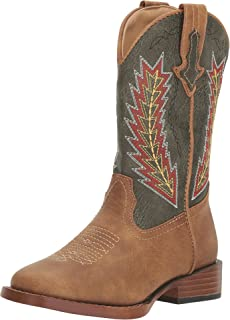 ROPER Boys' Arrowheads Cowboy Boot Square Toe - 09-018-1900-0077 Ta
