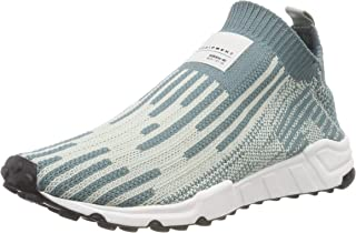 adidas Men's EQT Support Sock PK 3/3 Shoes, Raw Green/Ash Silver/Core Black