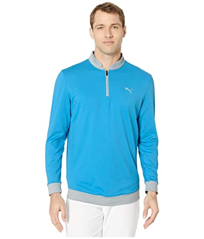 PUMA Golf Stealth 1/4 Zip (Ibiza Blue) Men