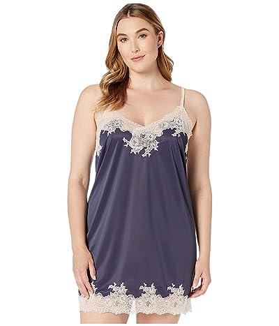 Natori Plus Size Enchant (Night Navy/Rose Beige Lace) Women