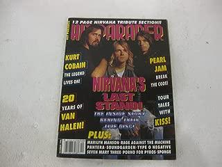 Hit Parader December 1996 Magazine