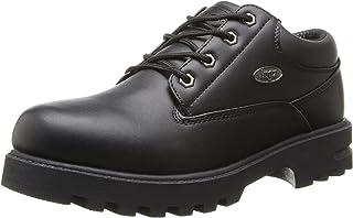 Lugz Men's Empire Lo WR Thermabuck Boot, Black, 11 D US