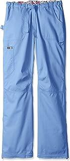 KOI Women's Lindsey Ultra Comfortable Cargo Style Scrub Pants (Tall Sizes)