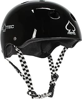 Protec Classic Skate Helmet Black/Checker