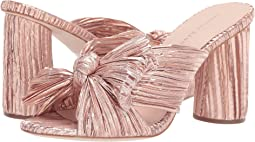 Rose Gold Pleated Lame