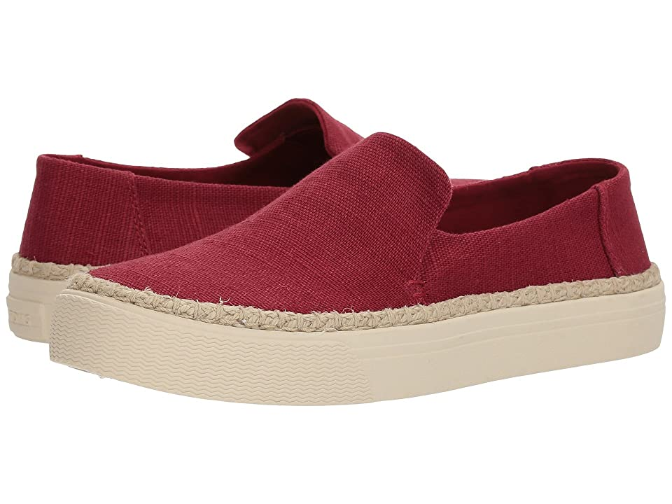 TOMS Sunset (Henna Red Heritage Canvas) Women