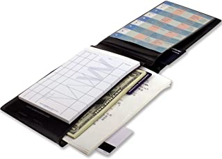 Waiter Wallet Sr. Server Book Organizer and Restaurant Order Pad for Waitresses, Waiters and Bartenders, Large Size fits Apron