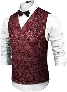 Best red brocade vest Reviews
