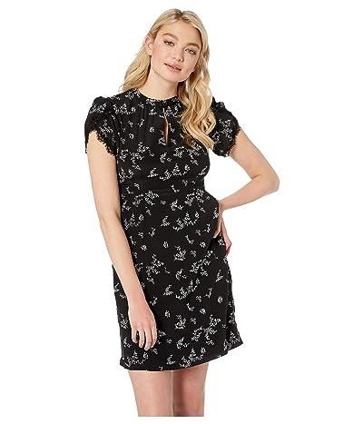Nanette Lepore Decadence Shift Dress (Black Multi) Women