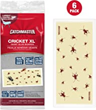 Catchmaster Cricket XL, Largest Cricket Trap Available (6 Pack)