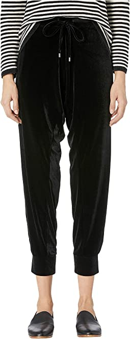 Ankle Drawstring Slouchy Pants