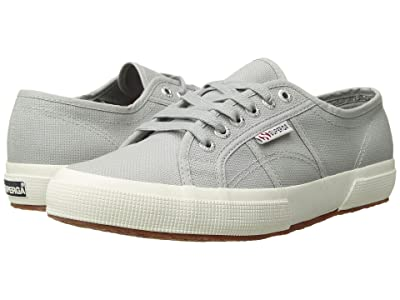 Superga 2750 COTU Classic Sneaker (Light Grey) Lace up casual Shoes