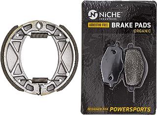 NICHE Brake Shoe for Yamaha G6S PW80 XT125 TTR90 TW200 TTR125L YZ80 AT3 YZ100 4BE-W253E-00-00 Rear
