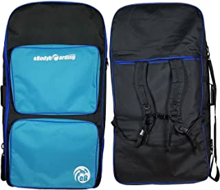 4-Board Bodyboard Travel Bag | Board Bag | 3 Pocket | Black, Blue Steel, Royal Blue