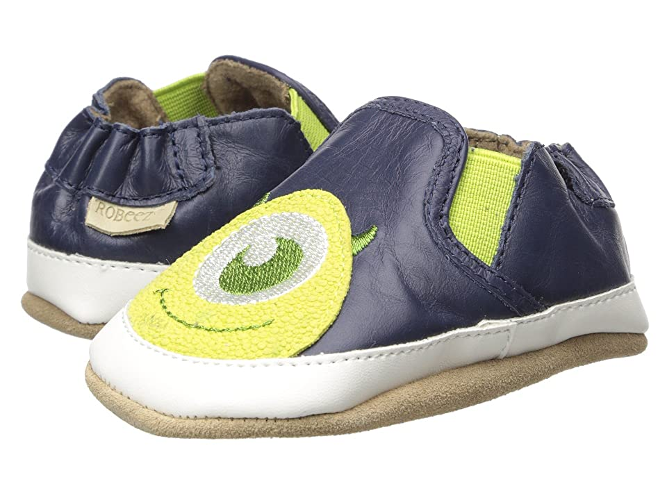 Robeez Disney Little Monster Soft Sole (Infant/Toddler) (Navy) Boy