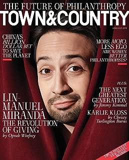 Town & Country Magazine (June/July, 2018) Lin-Manuel Miranda Cover