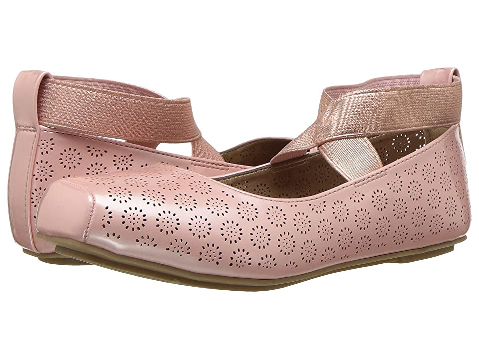 Jessica Simpson Kids Madora (Little Kid/Big Kid) (Blush Patent) Girl