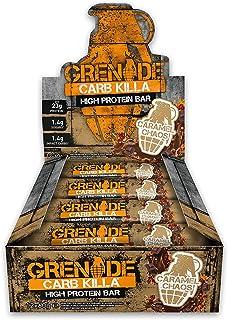 Grenade Carb Killa Bars 12repen Caramel Chaos