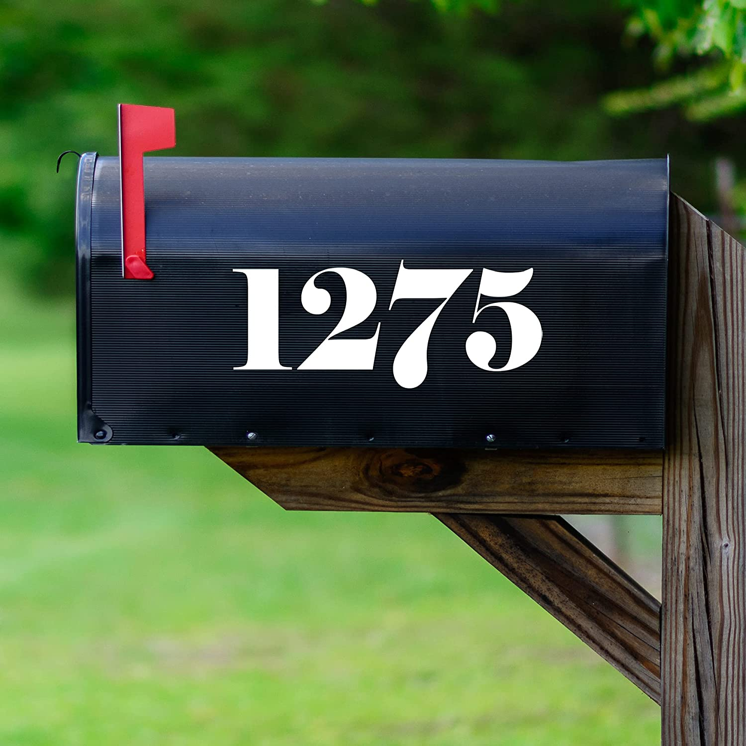 VWAQ Personalized Mailbox Numbers House trend rank for Decals Mailbo Over item handling ☆ Number